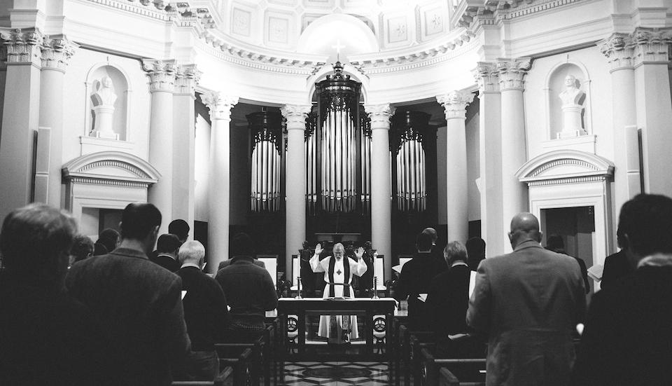jim leading worship